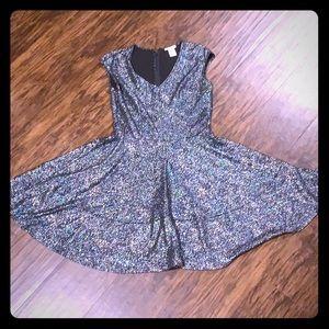 Multicolor sparkly dress- bar III
